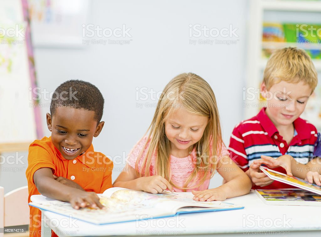 Junior Kindergarten Class royalty-free stock photo