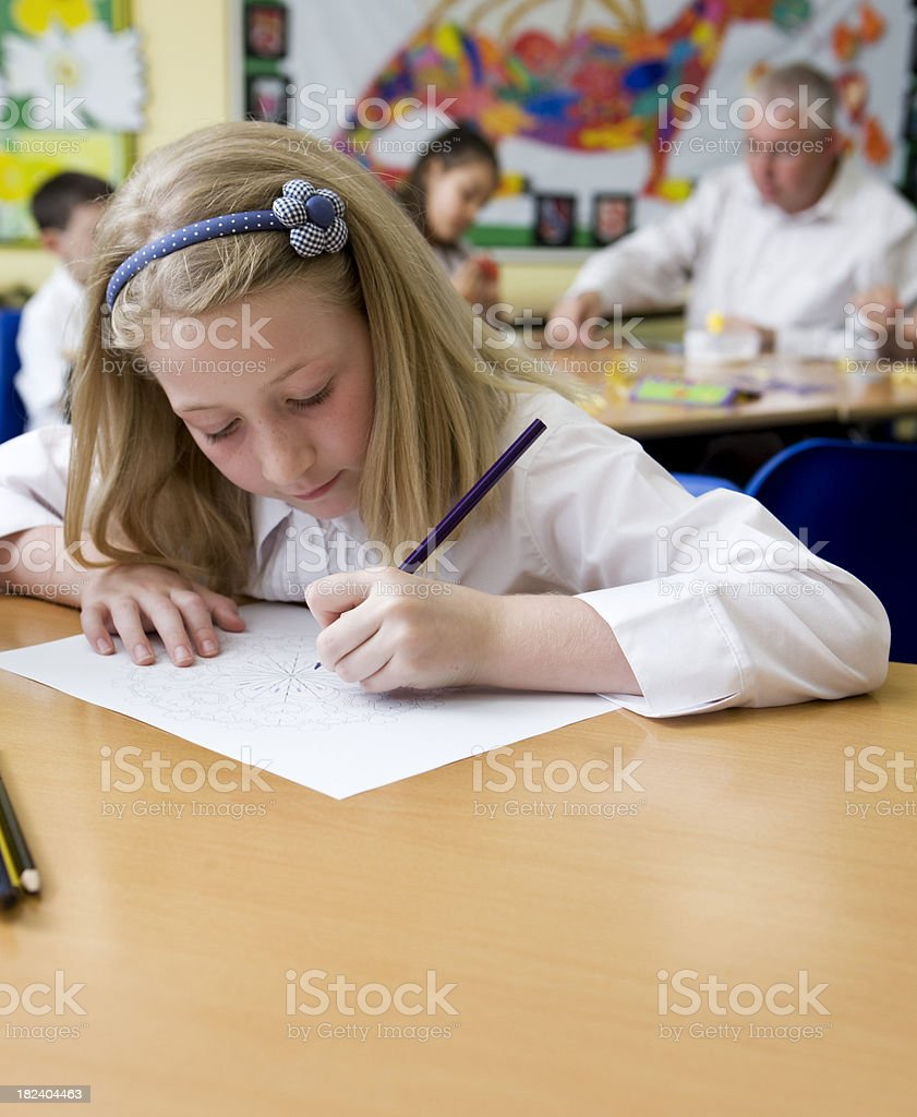 junior school: early learning royalty-free stock photo