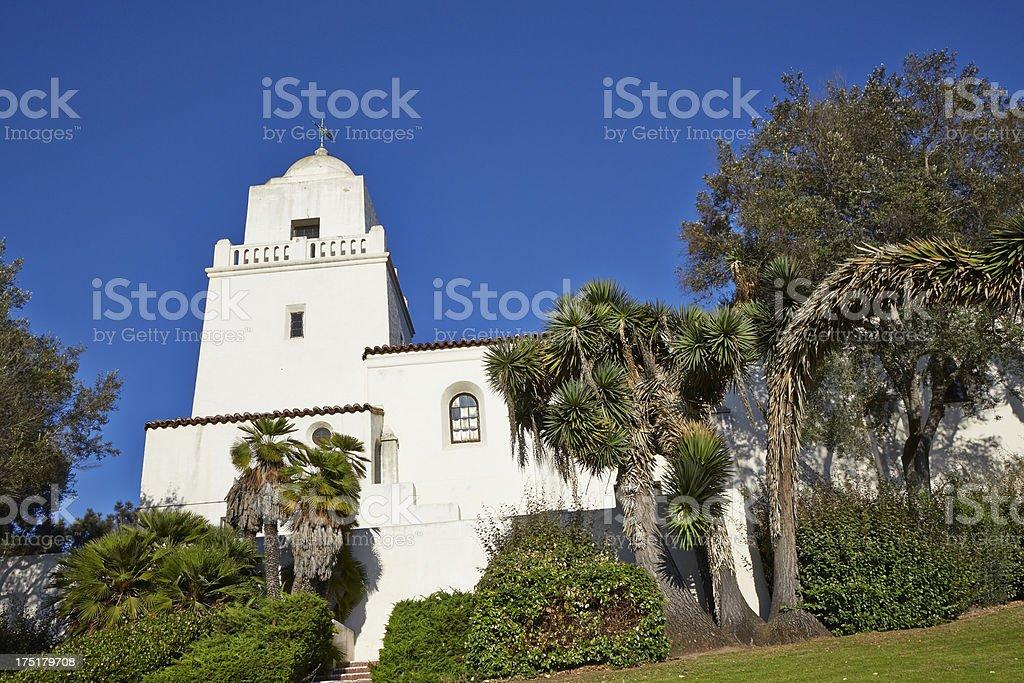 Junipero Serra Museum, Presidio Park, San Diego stock photo