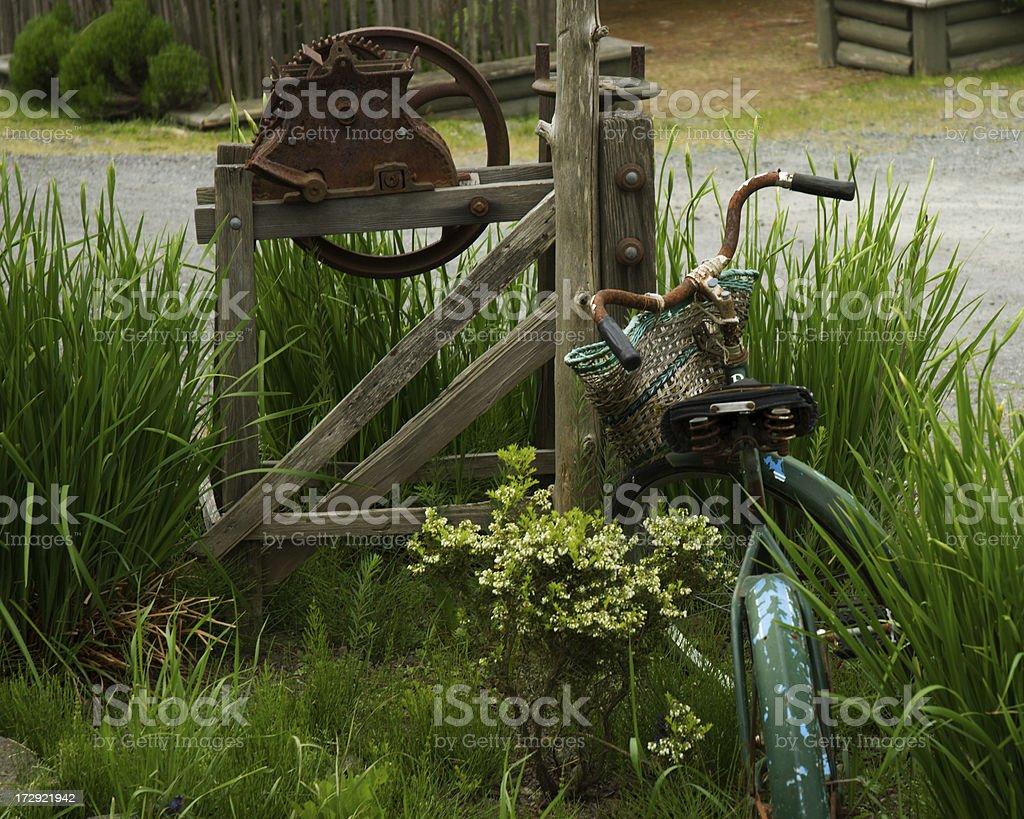 Junk Art stock photo