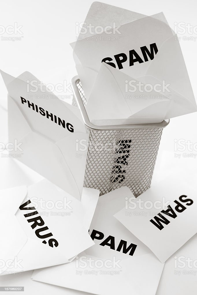 Junk mail royalty-free stock photo
