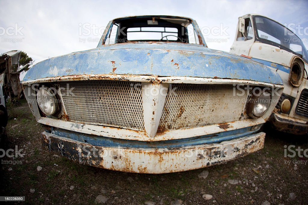 Junkyard series royalty-free stock photo
