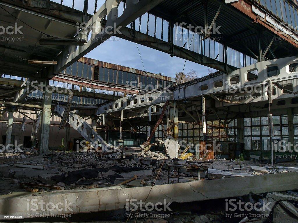 Jupiter Factory in Pripyat, Ukraine, 2016 stock photo