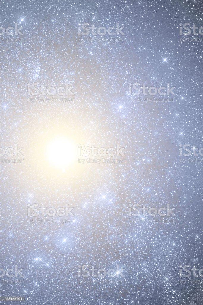 Jupiter in Telescope royalty-free stock photo