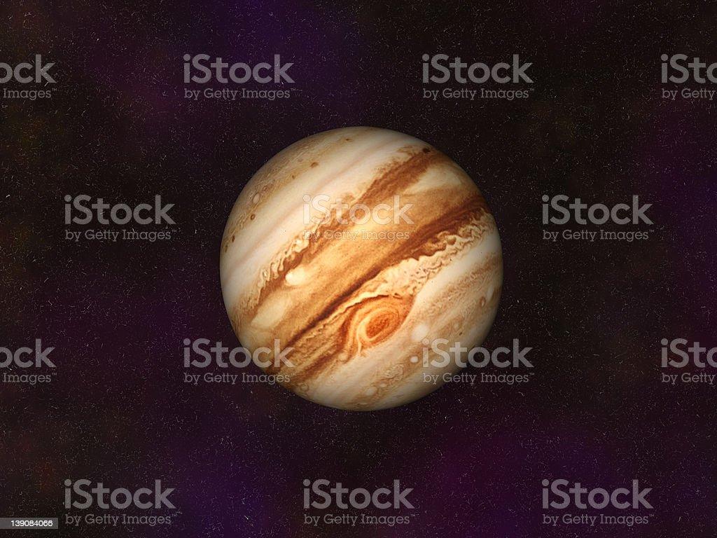 Jupiter royalty-free stock photo