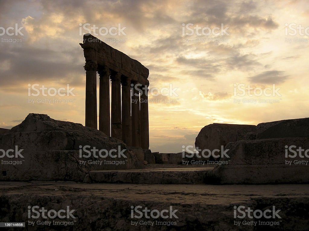 Jupiter Temple stock photo