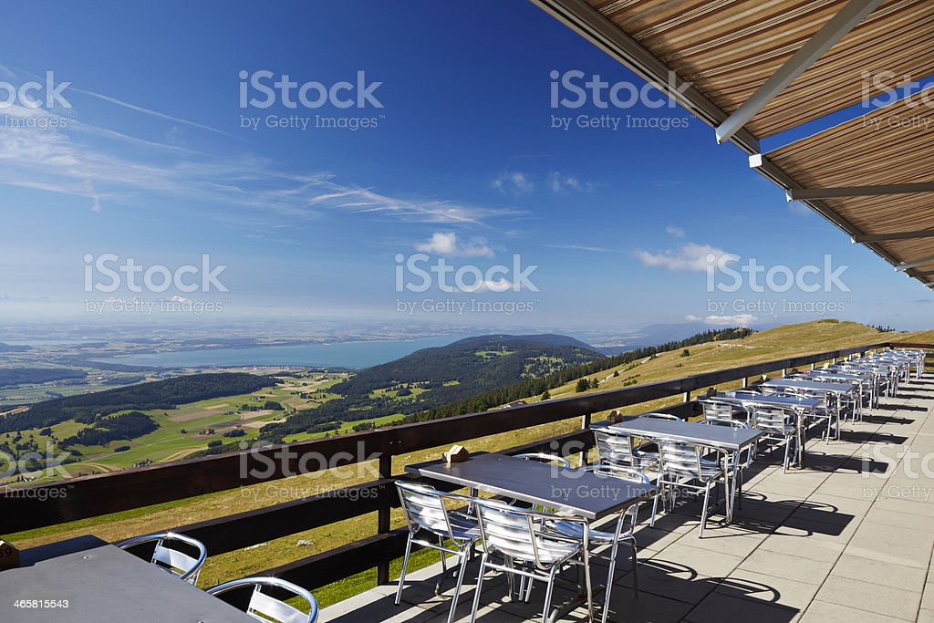 Jura terrace viewpoint royalty-free stock photo