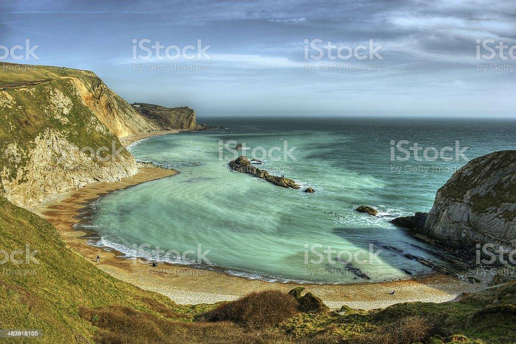 Jurassic Coast HDR stock photo