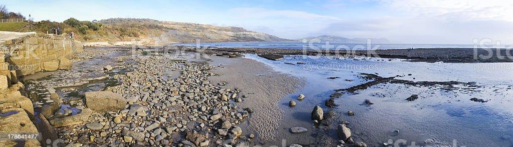 jurassic coast lyme regis dorset uk royalty-free stock photo