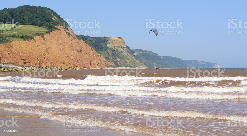 Jurassic Coast stock photo
