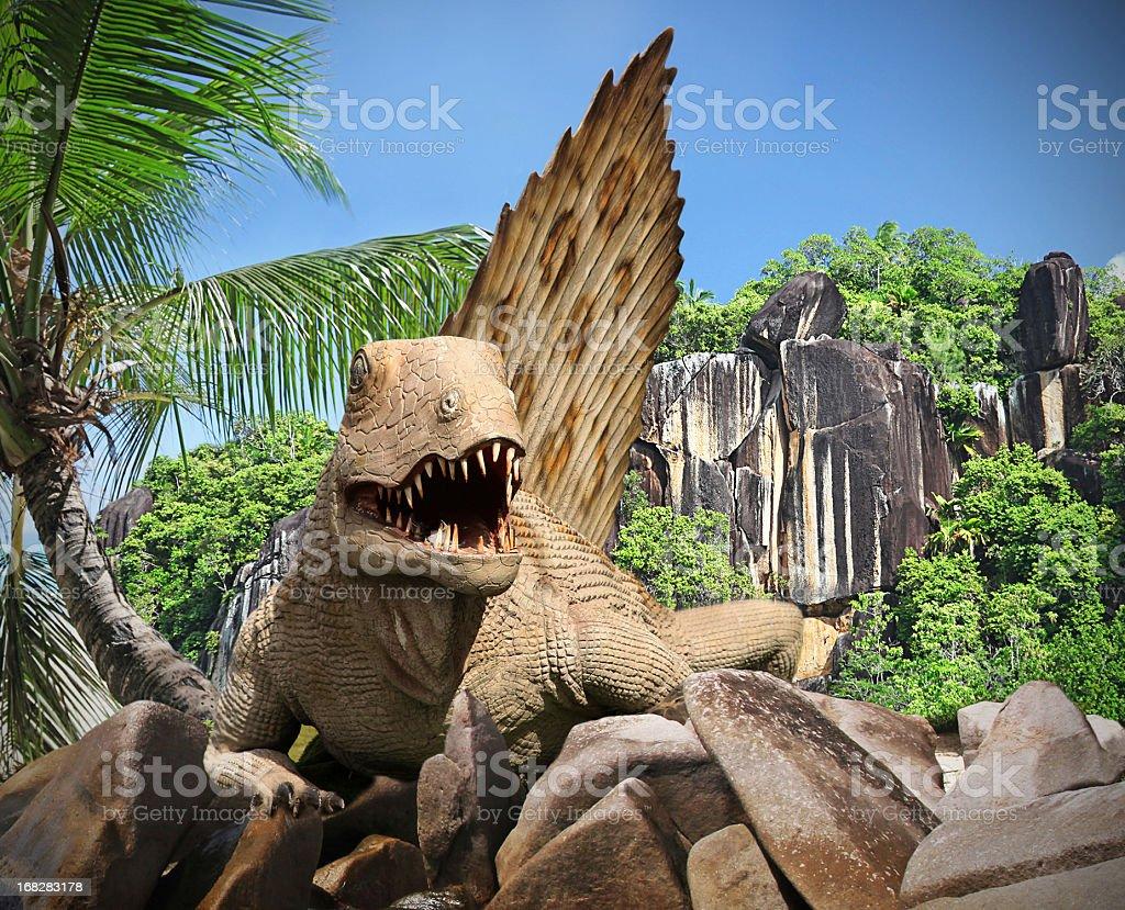 Jurassic Park Lost Island stock photo