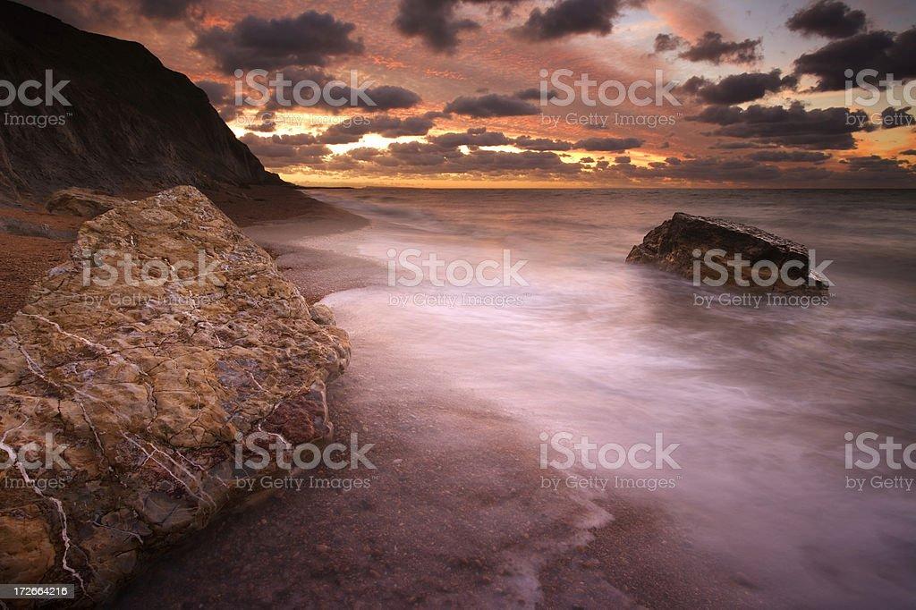 Jurassic Sunrise royalty-free stock photo