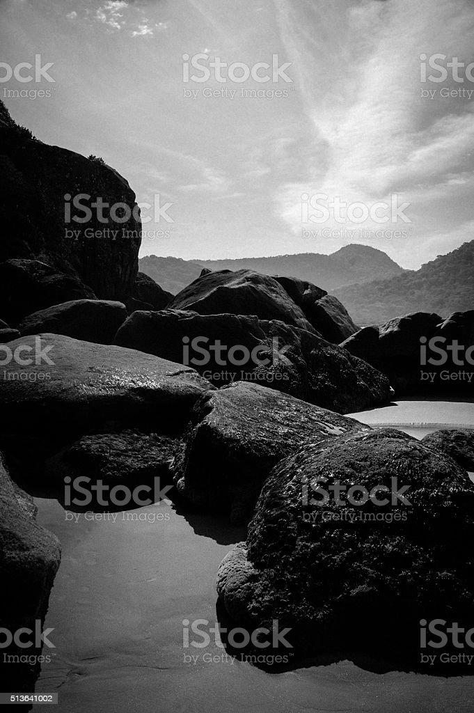 Jureia Landscape stock photo
