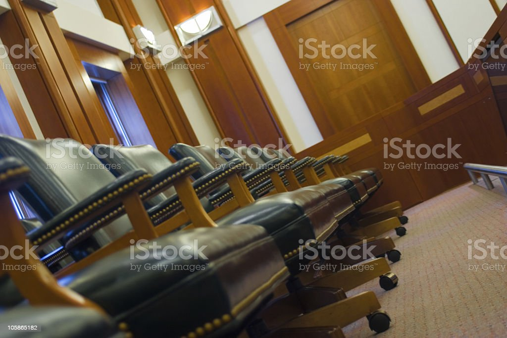 Jury Box II royalty-free stock photo