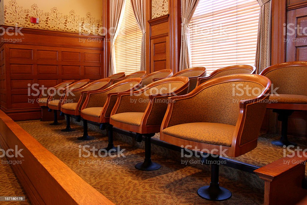 Jury Selection 3 royalty-free stock photo