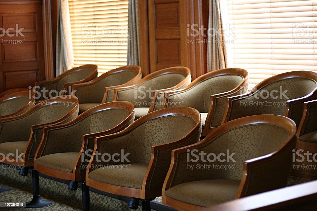 Jury Selection royalty-free stock photo