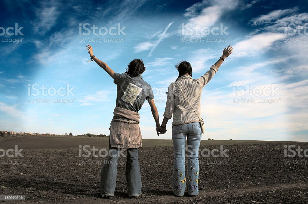 Just a friends? royalty-free stock photo