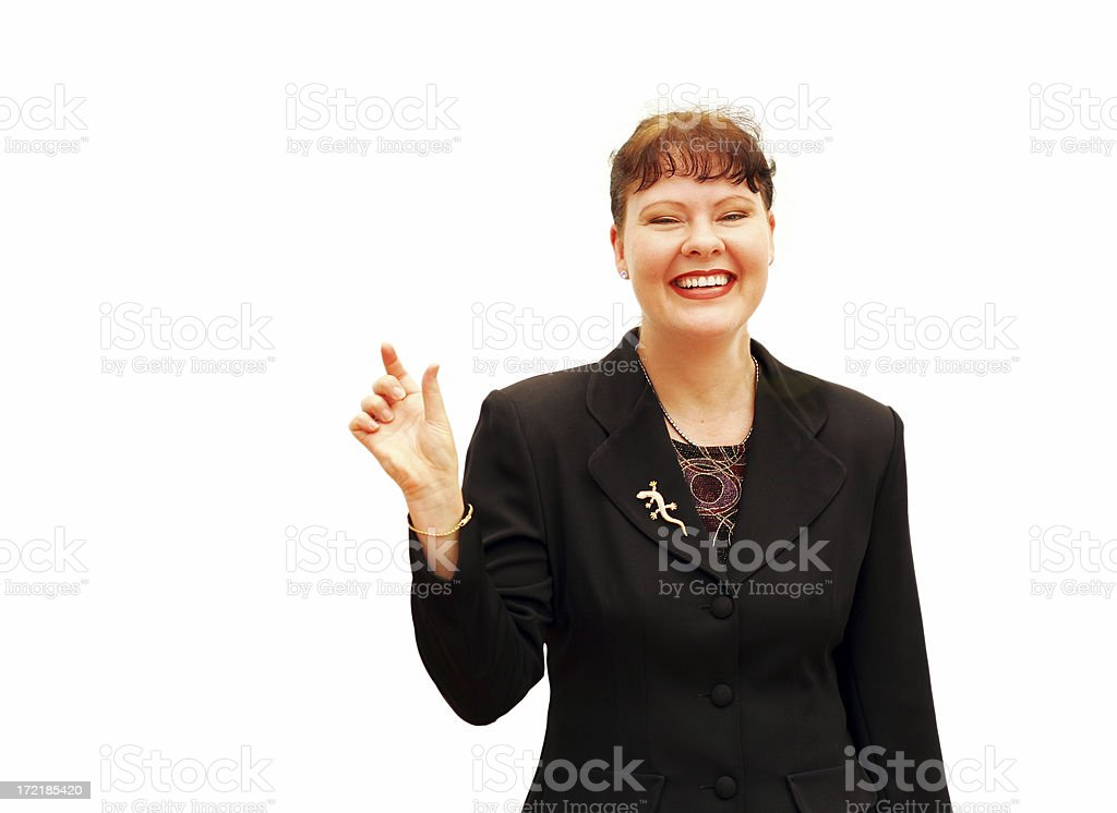 Just a Little Bit royalty-free stock photo