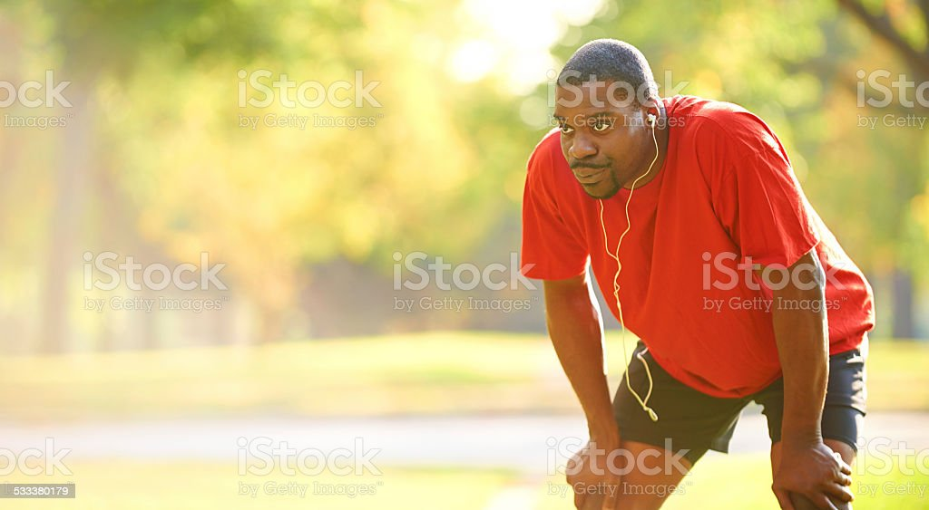 Just a little farther stock photo