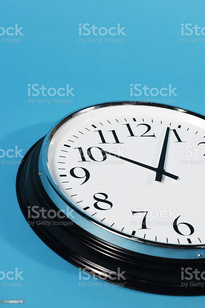 Just a Matter of Time royalty-free stock photo