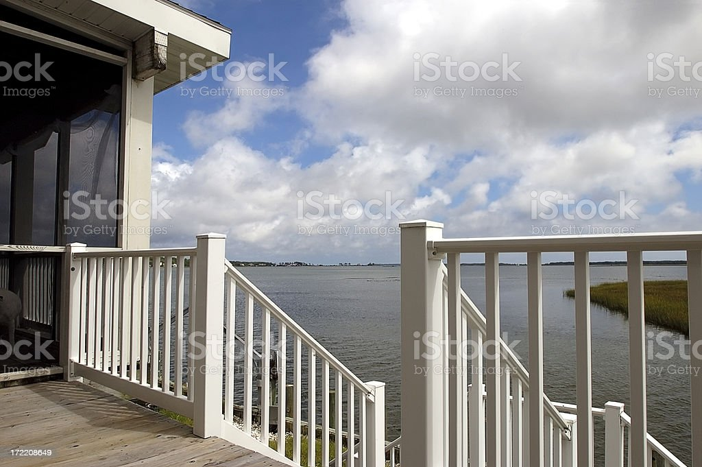 just a porch royalty-free stock photo