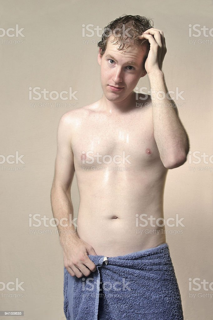 Just after the shower royalty-free stock photo