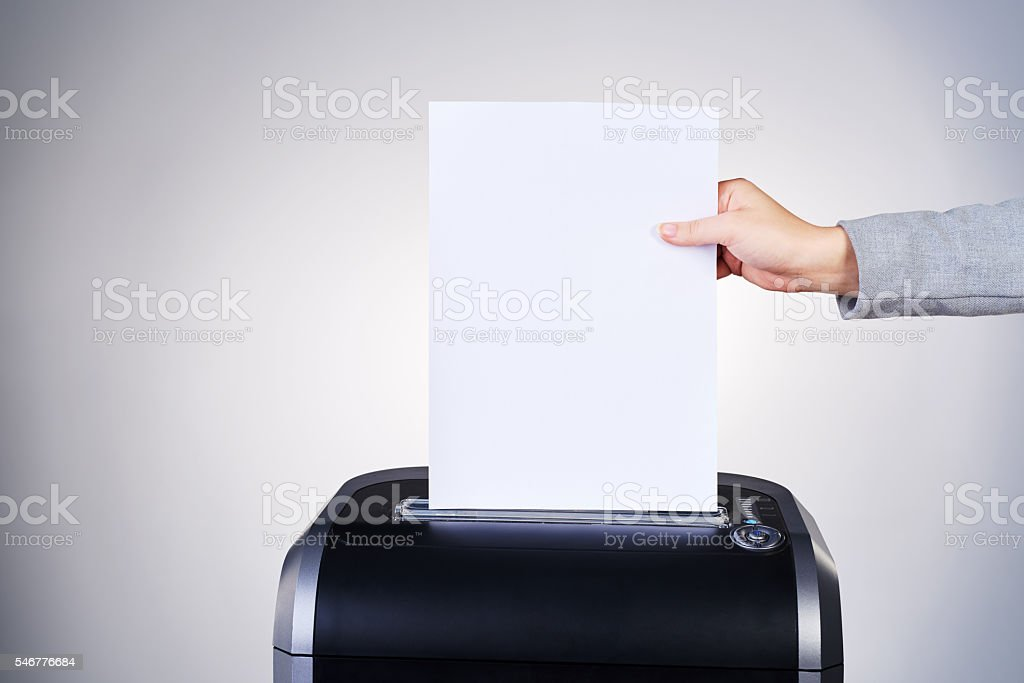 Just another addition to the paper trail stock photo