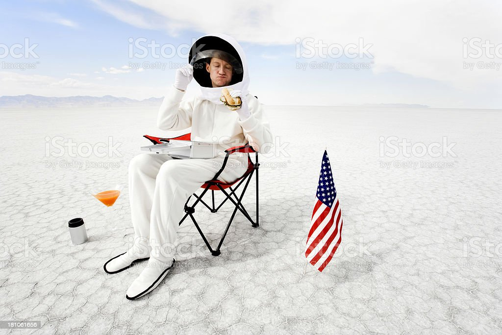 Just Another Day on The Job royalty-free stock photo