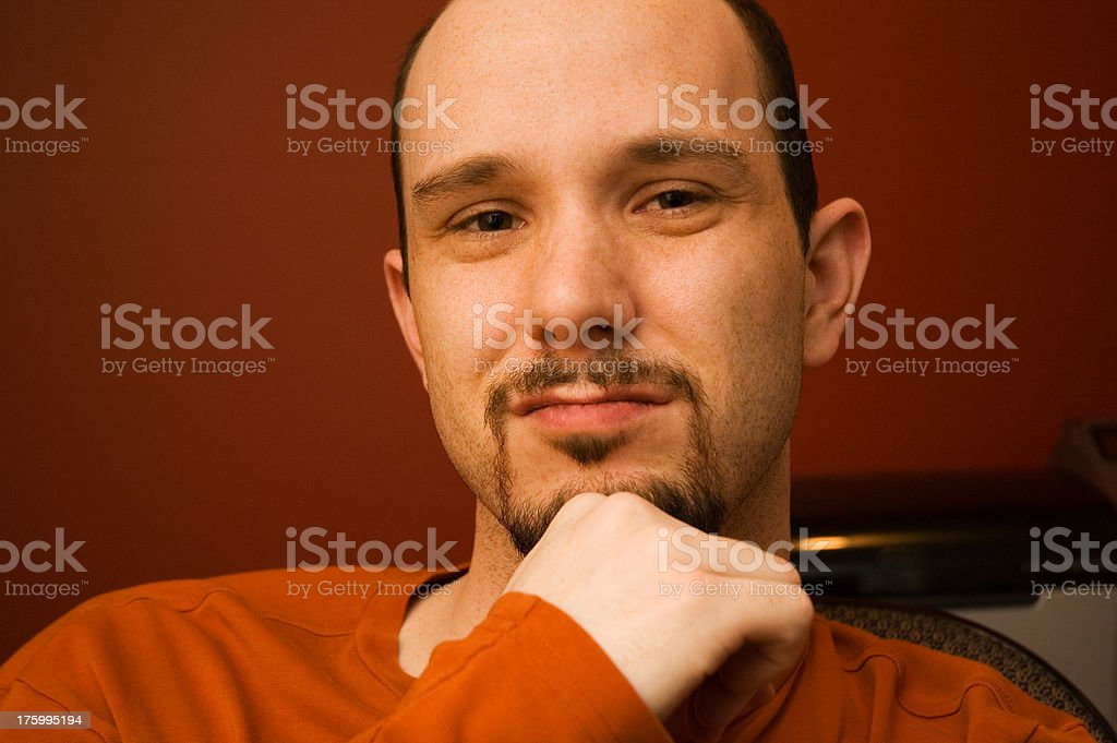 Just Another Guy royalty-free stock photo