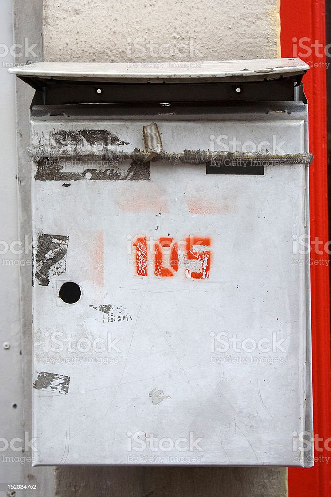 just another mailbox stock photo