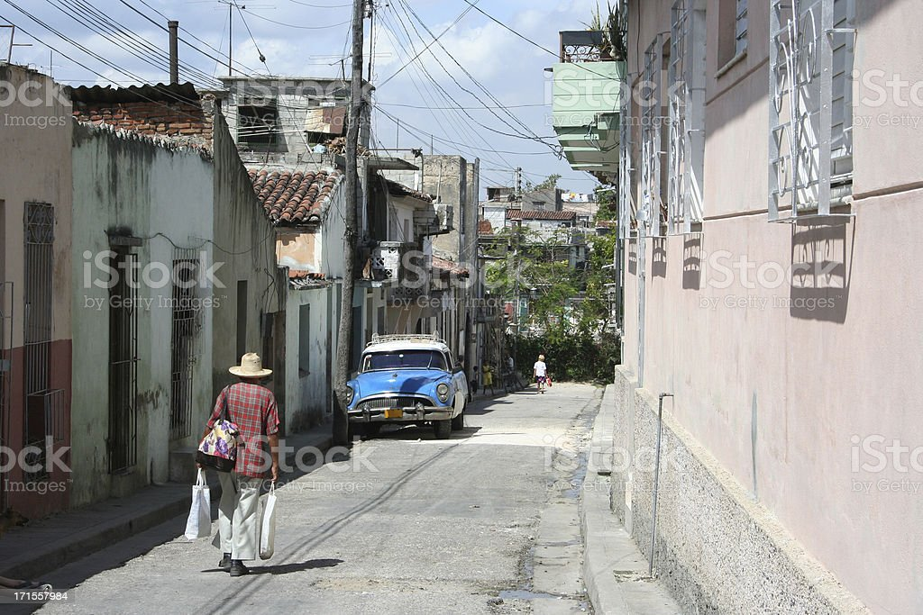 just another street in cuba stock photo