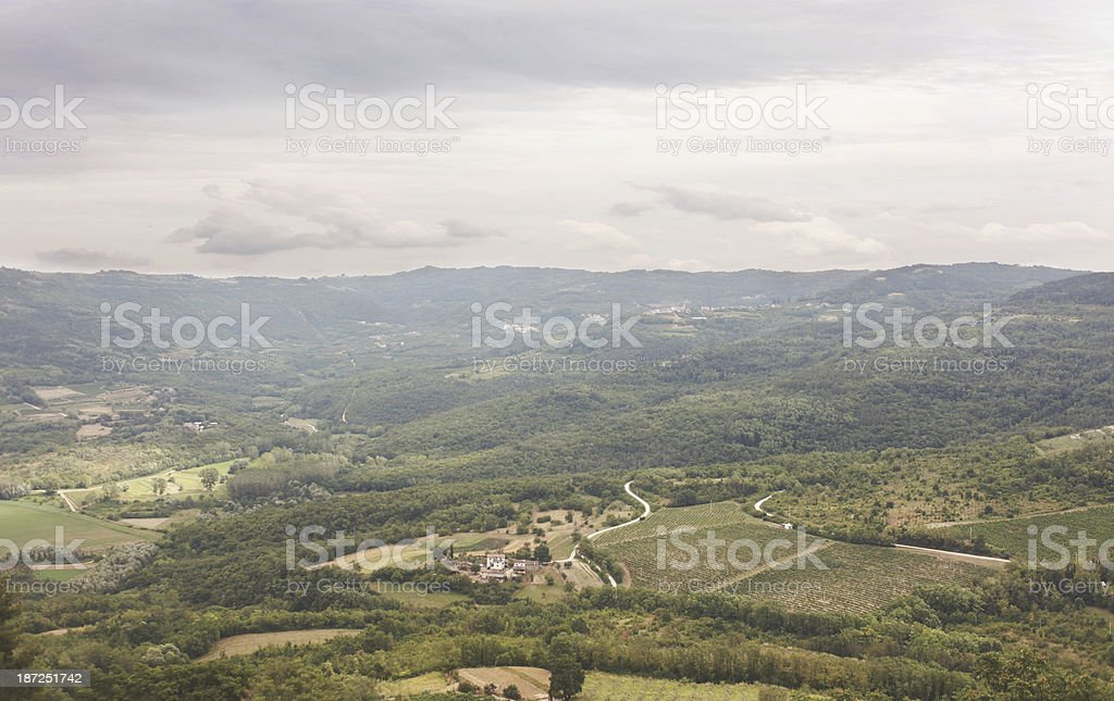 just before the rain royalty-free stock photo