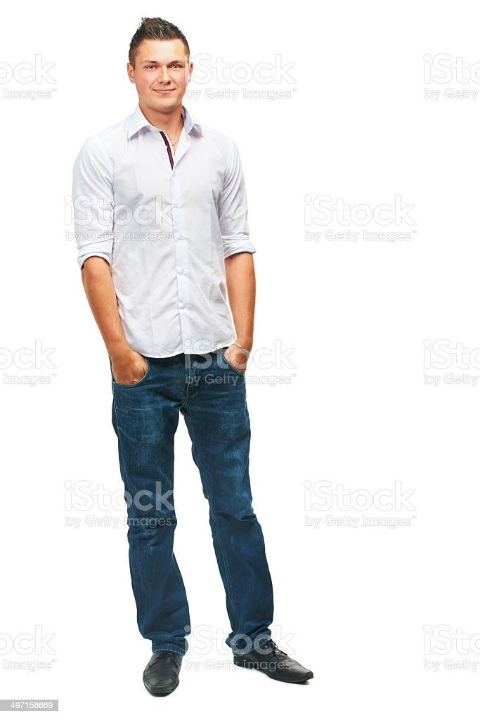 Just being myself... royalty-free stock photo