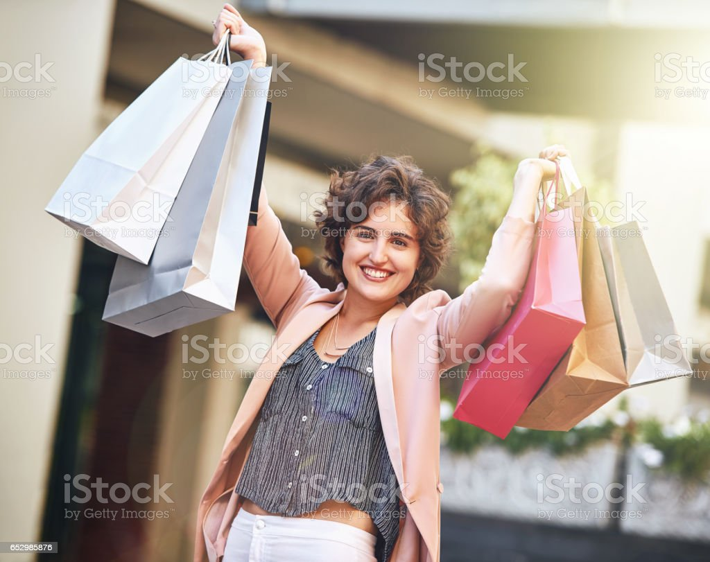 I just blew my budget  the sale royalty-free stock photo