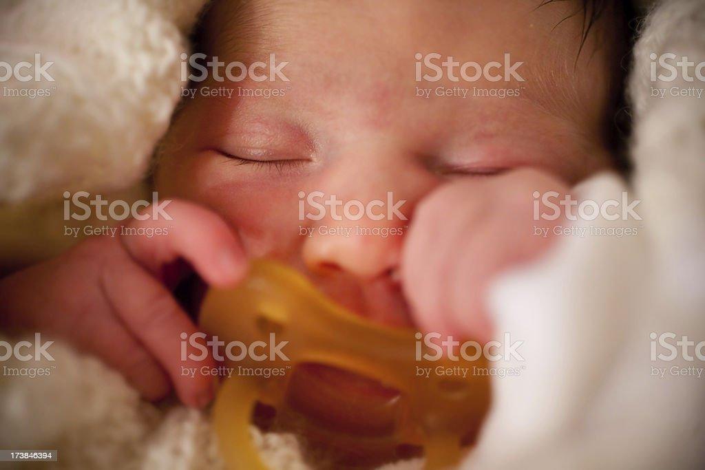 Just born child royalty-free stock photo
