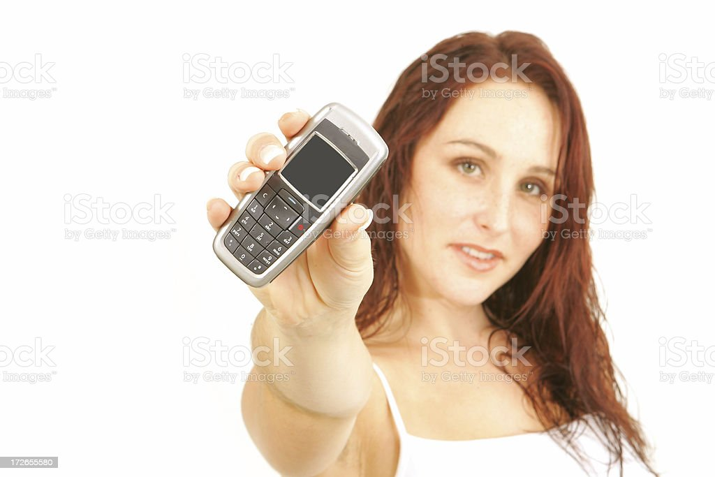 Just Call royalty-free stock photo