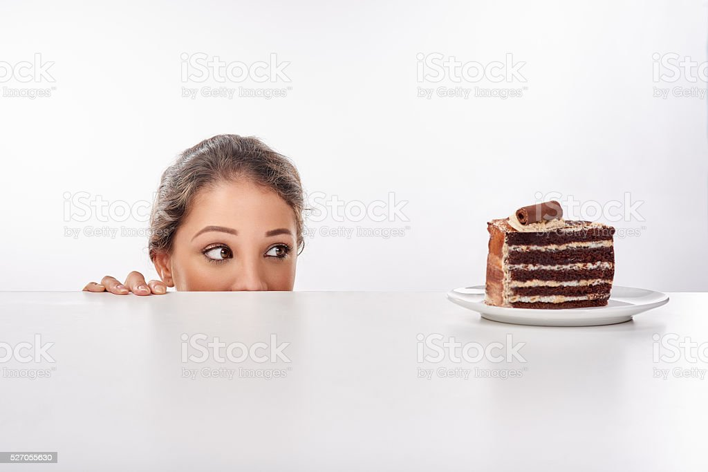 I just can't look away... stock photo