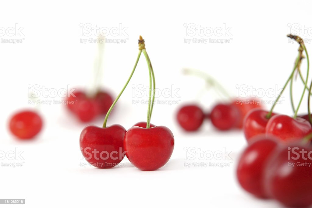 Just Cherries royalty-free stock photo