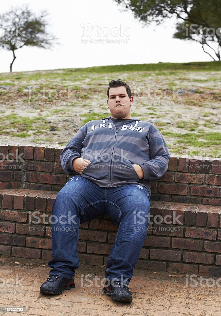 Just chilling... stock photo
