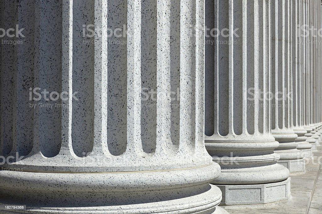 Just Columns royalty-free stock photo