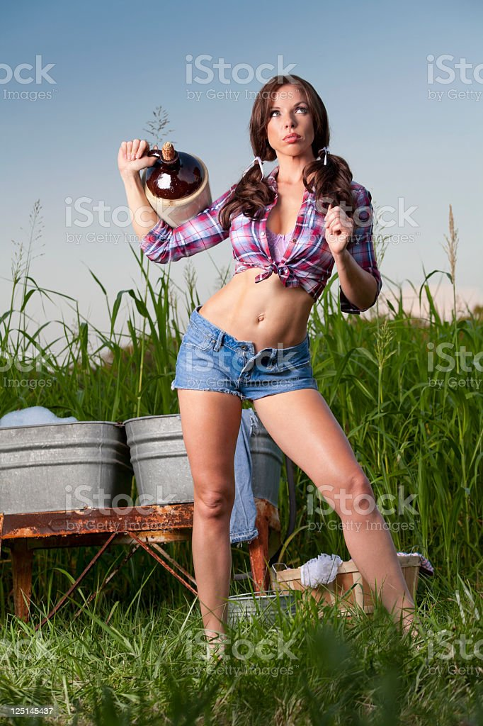just country stock photo
