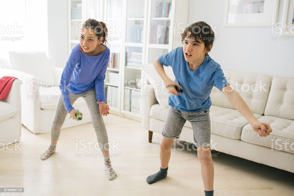 Just Dance Kids stock photo