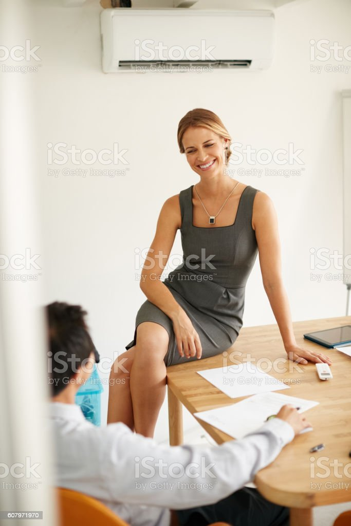 Just don't get too comfortable... stock photo
