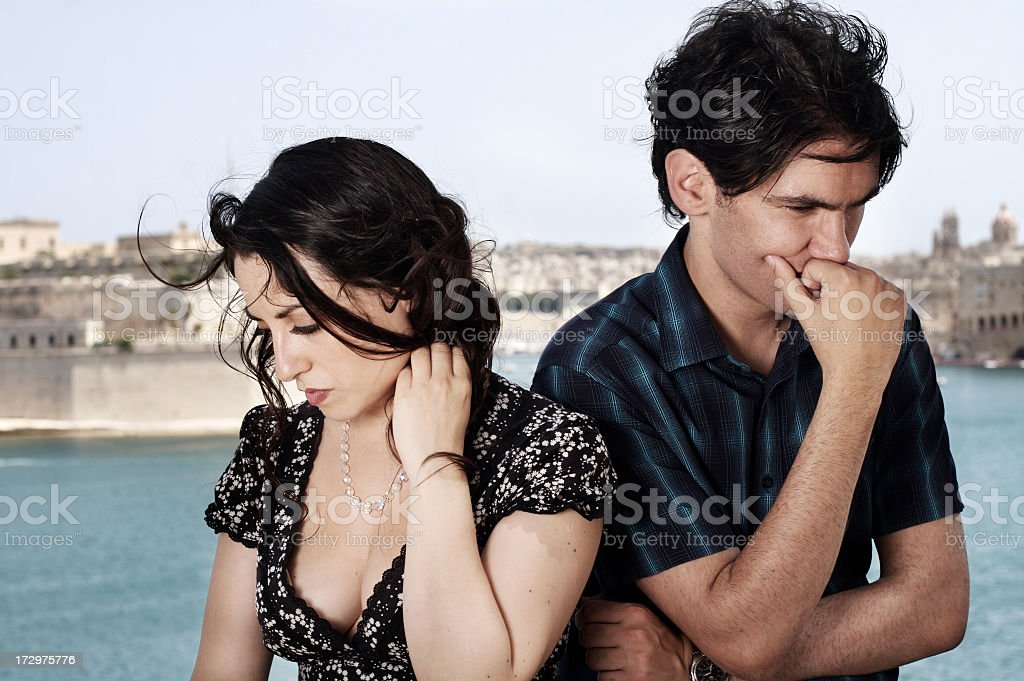 Just Don't know what to say royalty-free stock photo