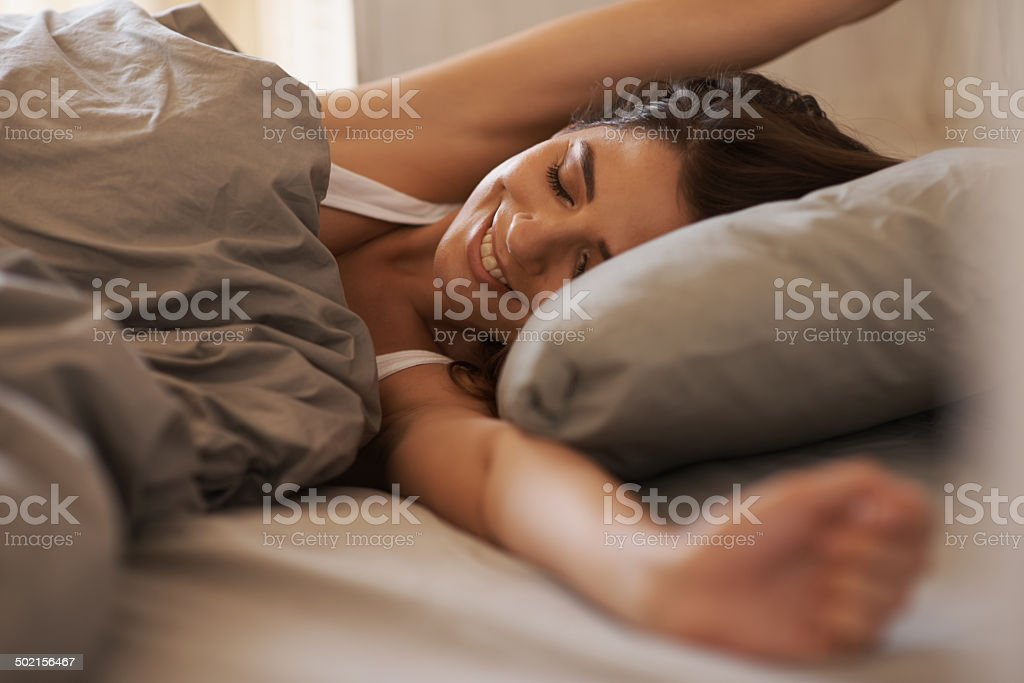 Just five more minutes stock photo