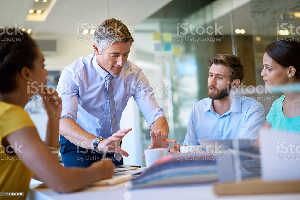 Just focus on this one thing stock photo