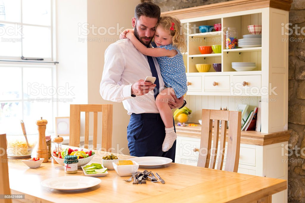 Just got to take this call! stock photo