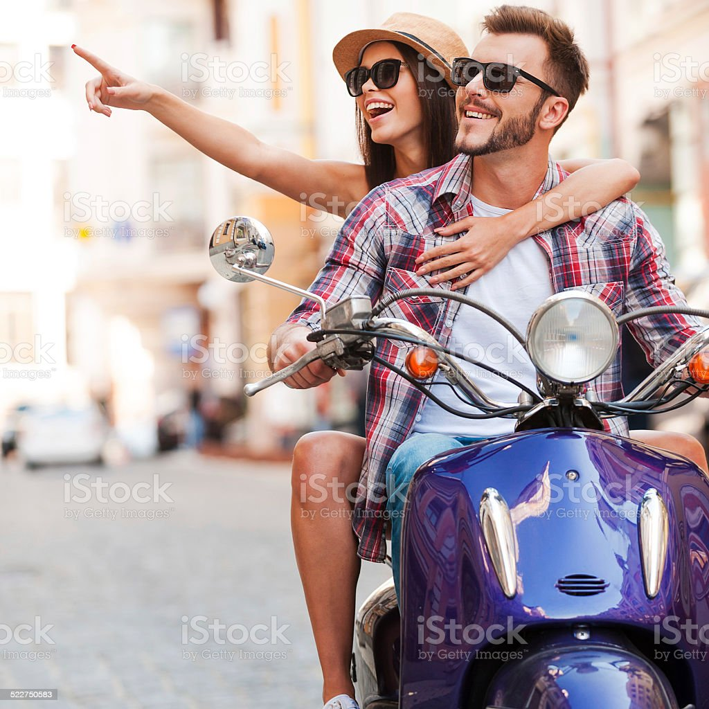 Just look at that! stock photo