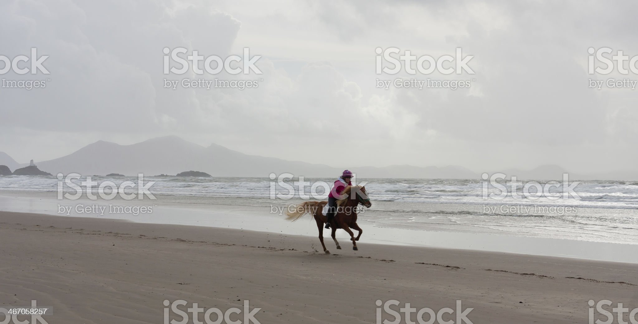 Just me and my horse! royalty-free stock photo