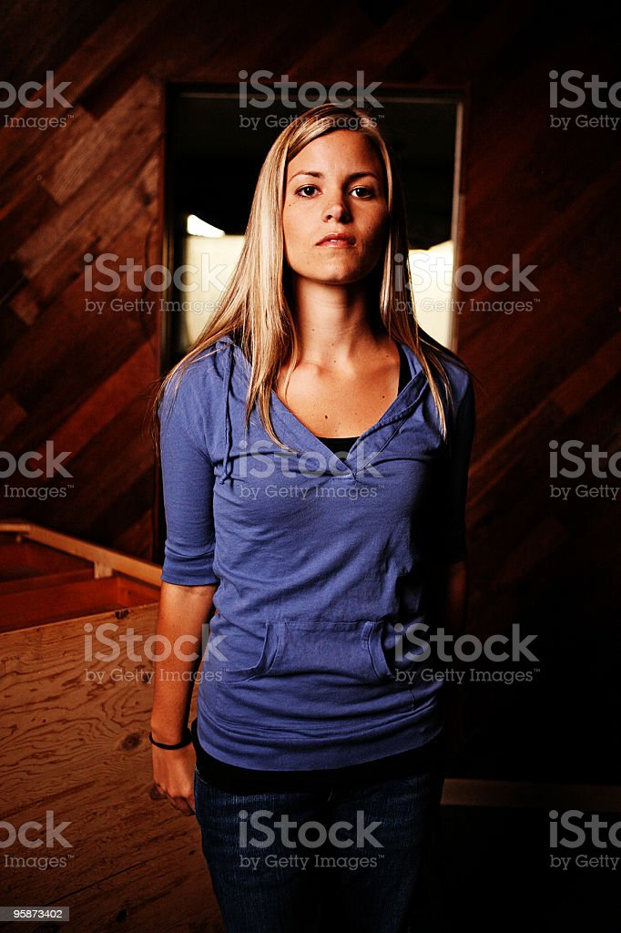 just me royalty-free stock photo